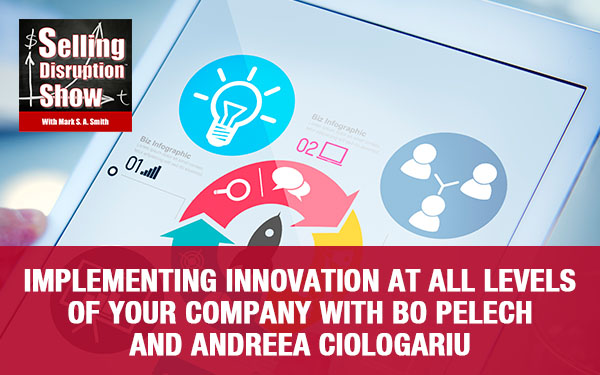 Implementing Innovation At All Levels Of Your Company with Bo Pelech and Andreea Ciologariu